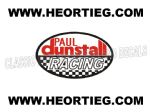 Paul Dunstall Racing Tank and Fairing Transfer Decal DDUN2-1